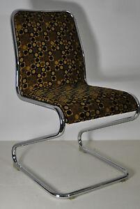 Das Bild Wird Geladen 2 Stuehle Freischwinger Dining Chair Esszimmer 70er Z