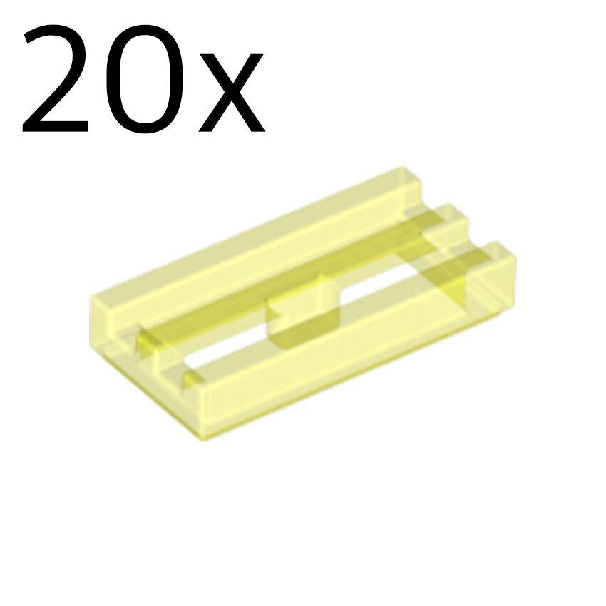 4x Lego ® Mesh-Tile//Tile 1x2 2412 NEW Transparent Light Blue Trans Light Blue