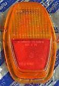 Plastique-phare-arriere-DX-orange-LEART-pour-Fiat-128-3P