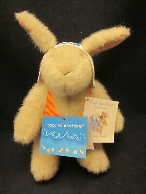 MUFFY VANDERBEAR Jam Session 1998 Hoppy Dressed in Outfit VINTAGE NEW TAG