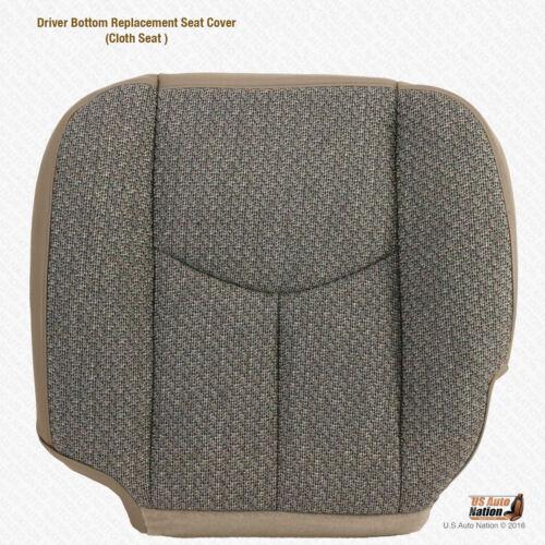 2005 2006 Chevy Silverado 2500 2500HD WORK TRUCK Driver Bottom TAN CLOTH Cover
