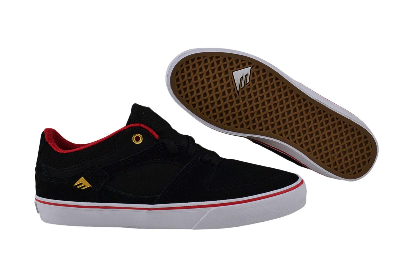 Emerica The HSU Low x Chocolate Black/Red/White Black/Red/White Black/Red/White Baskets/Chaussures | Bradées  96cc9f