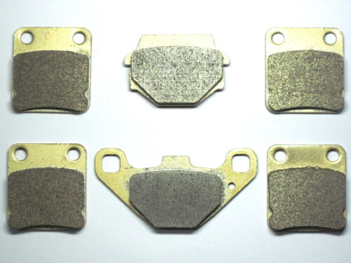 Front Rear Brake Pads Fit Suzuki LTA LTF 500 4X4 2003-2007 SINTERED BRAKES 3 SET