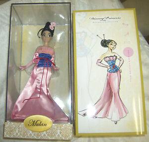 disney limited edition mulan doll 2018
