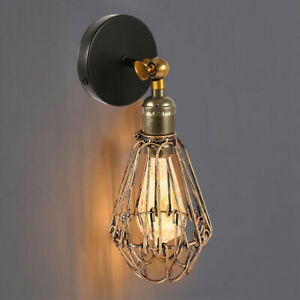 E27-Vintage-Industrial-Retro-Wall-Lights-Fittings-Indoor-Sconce-iron-Metal-Lamp
