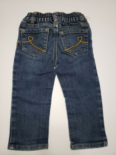 Size 18-24 Mo Elastic Back Children/'s Place Girls Skinny Stretch Jeans