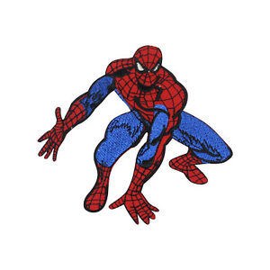 Spiderman Superhero Patch Iron On Patch Sew On Badge Patch Embroidery Patch