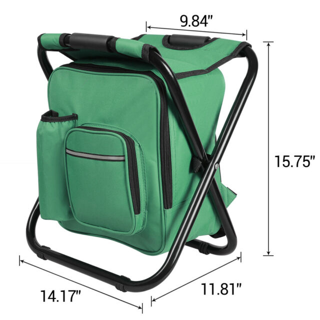 Letsfunny Folding Camping Chair Portable Lightweight Backpack Chairs Compact Bag For Sale Online Ebay