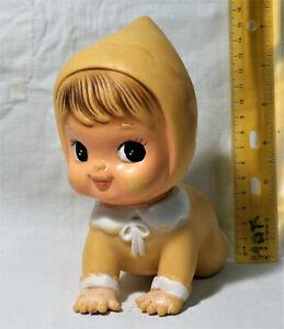 VTG-034-Hihi-Japan-crawling-034-BABY-GIRL-big-eyes-RUBBER-TOY-DOLL-KOREA-Iwai-BISERKA