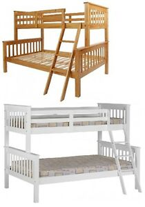 Neptune Triple Sleeper Top Single 3ft Bottom Small Double 4ft