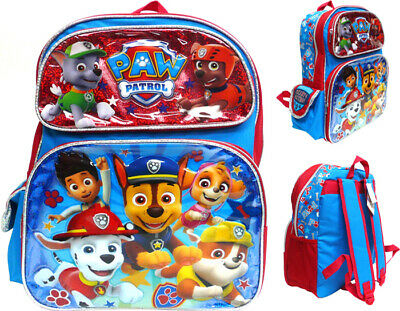 "Nickelodeon Paw Patrol 12/"" Toddler School Backpack Boy/'s Book Bag"