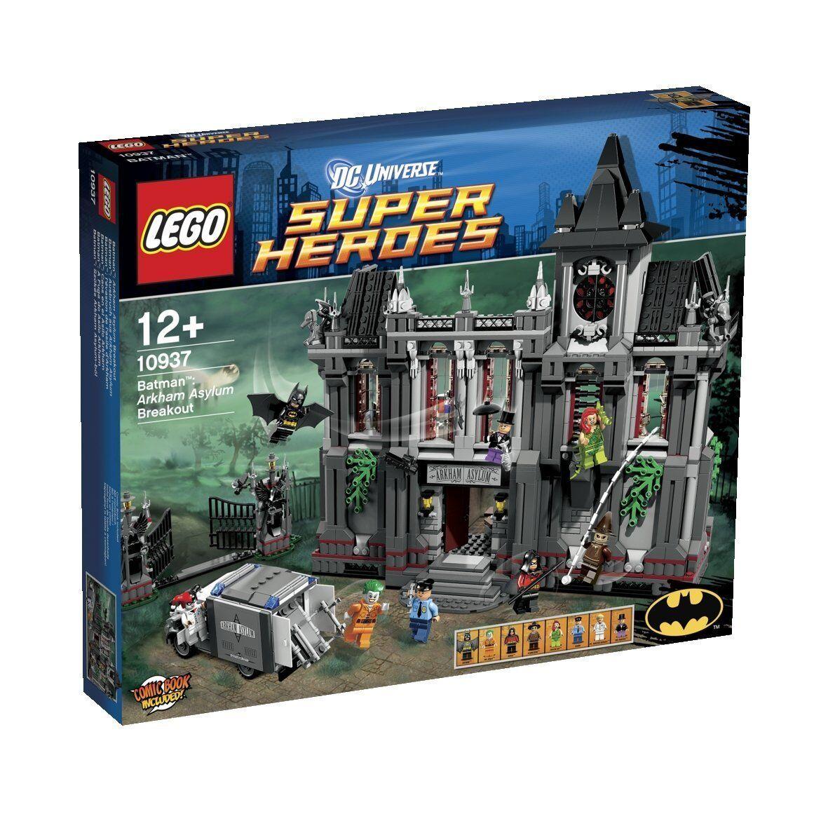 LEGO Super Heroes 10937 - aus Batman Ausbruch aus - Arkham Asylum Breakout NEU MISB 9efa4b