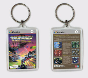 Diplomatique Battle Squadron Commodore Amiga Llavero Keyring