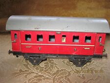 Vintage Fleischmann (US Zone Germany) Train Passenger Car  O Gauge