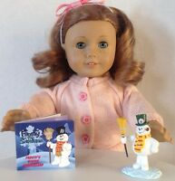 Frosty The Snowman Mini Book For American Girl Doll 18 Accessories Set