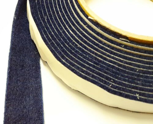 NAVY BLUE Sticky Self-Adhesive Felt Furniture Pad Roll for Hard Surface Strip 1M