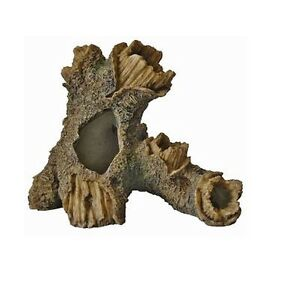 Baum baumstamm fischh hle aquarium ornament aquarium holz deko ebay - Holz deko aquarium ...