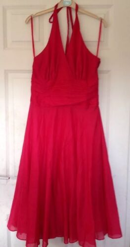 Swing Marlyn Red anni Monsoon 100 14 Cotton Monroe '50 estivo Oriane Abito Stunning qHPZzB
