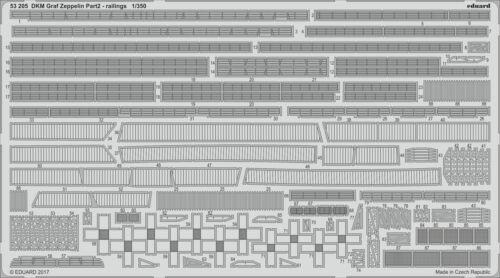 Eduard 1//350 DKM Graf Zeppelin Teil 2 Geländer #53205