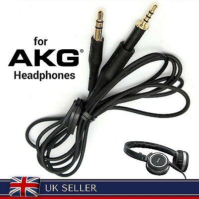 1m Cable for AKG K450 K451 K452 K480 Q460 Headphones HIFI Audio Upgrade Cord