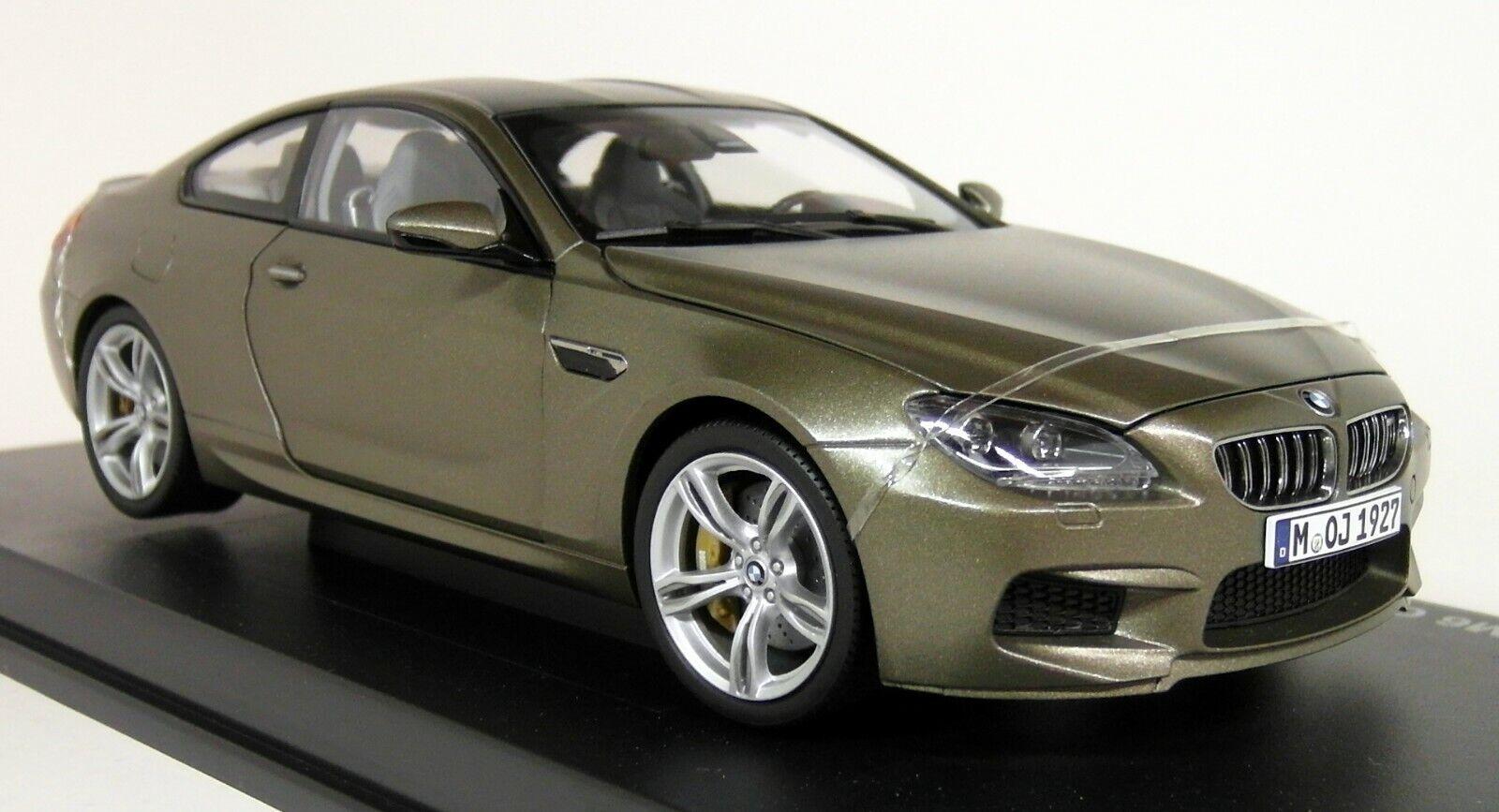 Esperando por ti Paragon escala 1 1 1 18 - BMW M6 Coupe (F13) coche modelo Diecast Bronce congelado  Entrega directa y rápida de fábrica
