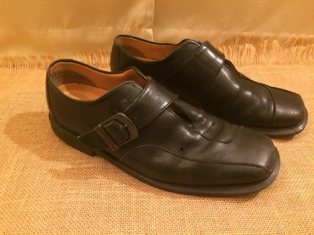 DR. MARTENS Men's 1C58 Monk Strap Shoes - Black M - Size US 8 M Black EUC! 07eccf