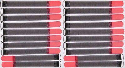 2019 Moda 20 Velcro Fascette Per Cavi 200 X 20 Mm Neonrot Fk Cavo Nastro Di Velcro Cavo Velcro Nastro Di Velcro-mostra Il Titolo Originale I Consumatori Prima