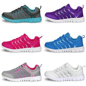 Mujer-Deportivo-Transpirable-Zapatillas-Gimnasio-Running-Zapatos-Atletismo