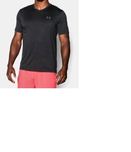 b9ac19b09a Details about Under Armour Men's UA Tech V Neck Short Sleeve T-Shirt New  Mens MEDIUM 1253534