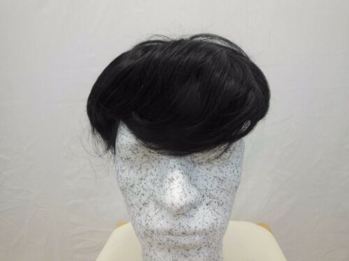Mens Hair Piece Systems #13 Human Hair Hand-knotted Toupee