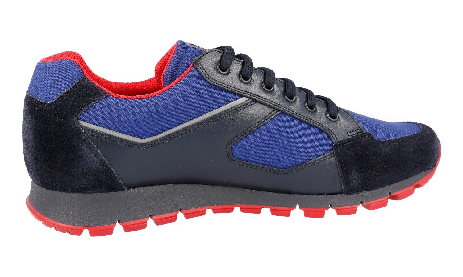 AUTHENTIC PRADA MATCHRACE SNEAKERS SNEAKERS SNEAKERS SHOES 4E2932 BLUE + RED US 9 EU 42 42,5 f27be9