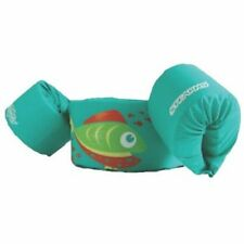 Stearns Basic Green Fish Puddle Jumper CGA Life Jacket for kids 30-50 lbs