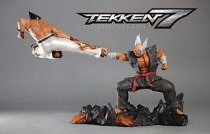 Tekken 7 Collectors Edition Statue Action Figure Kazuya Vs Heihachi Brand New Ebay