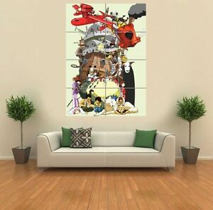 MONONOKE TOTORO ANIME MANGA  NEW GIANT POSTER WALL ART PRINT PICTURE G1192 - EDINBURGH, United Kingdom - We Accept returns on all our items for up to 30 Days from Receipt. - EDINBURGH, United Kingdom
