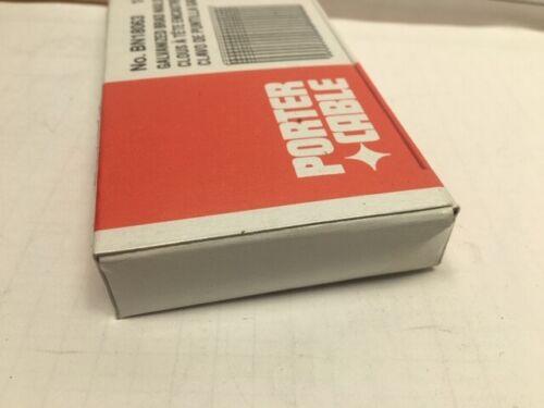 """Porter Cable BN18063 18 Ga x 5//8/"""" Galvanized Brad Nails"""
