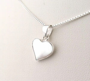 925 sterling silver mother of pearl heart pendant with silver chain image is loading 925 sterling silver mother of pearl heart pendant aloadofball Image collections