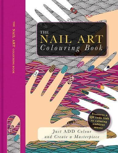 1 of 1 - THE NAIL ART COLOURING BOOK ___ BRAND NEW ___ FREEPOST UK