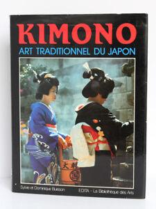Kimono-Art-traditionnel-du-Japon-S-et-D-BUISSON-La-Bibliotheque-des-Arts-1983