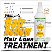 Best All Natural Product Hair Renew Growth Faster Stronger Grow Longer Thin Loss