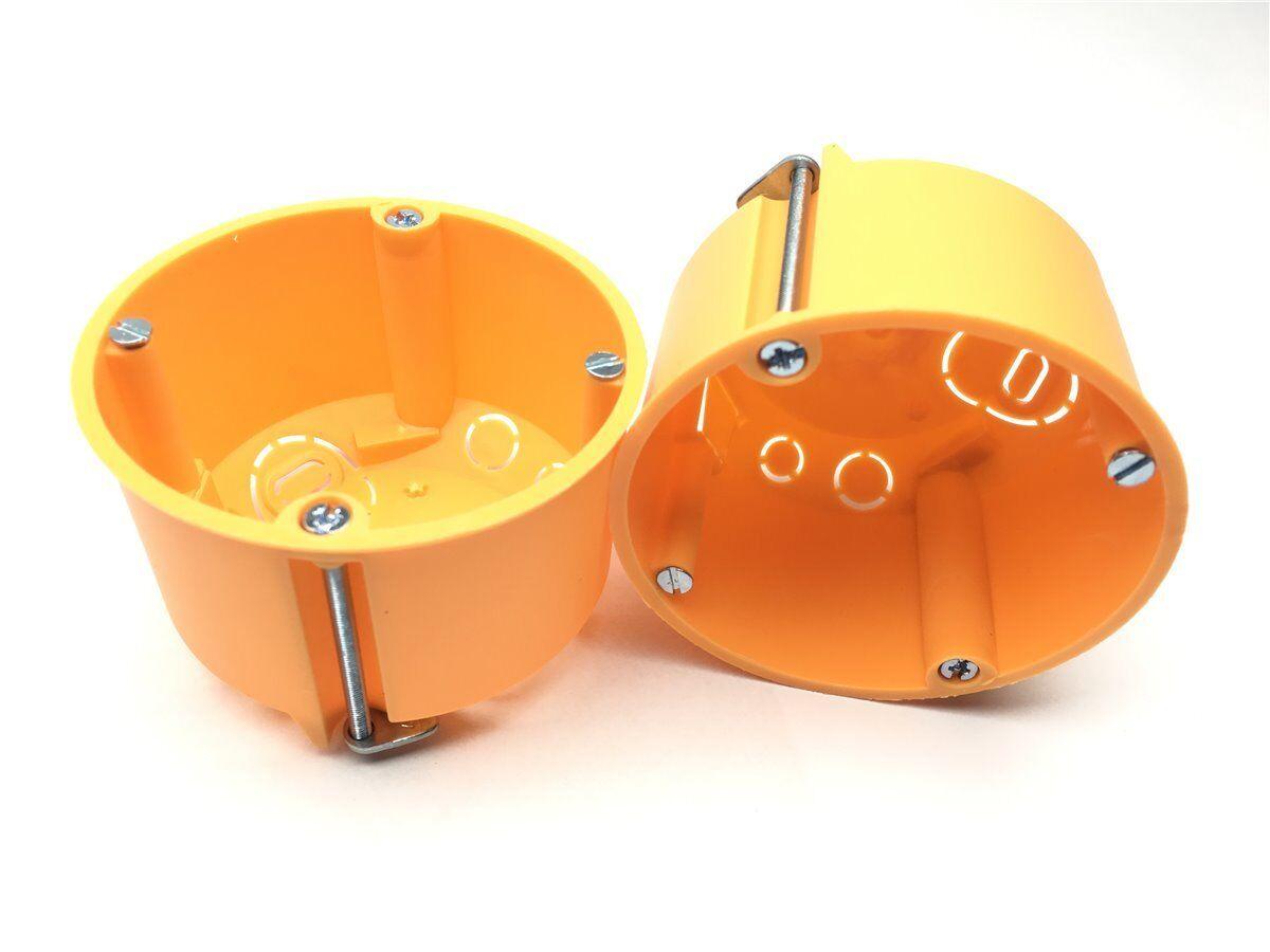 1-200 Hohlwanddosen Schalterdosen Gerätedose 47mm tief D= 68mm F-Tronic Dosen