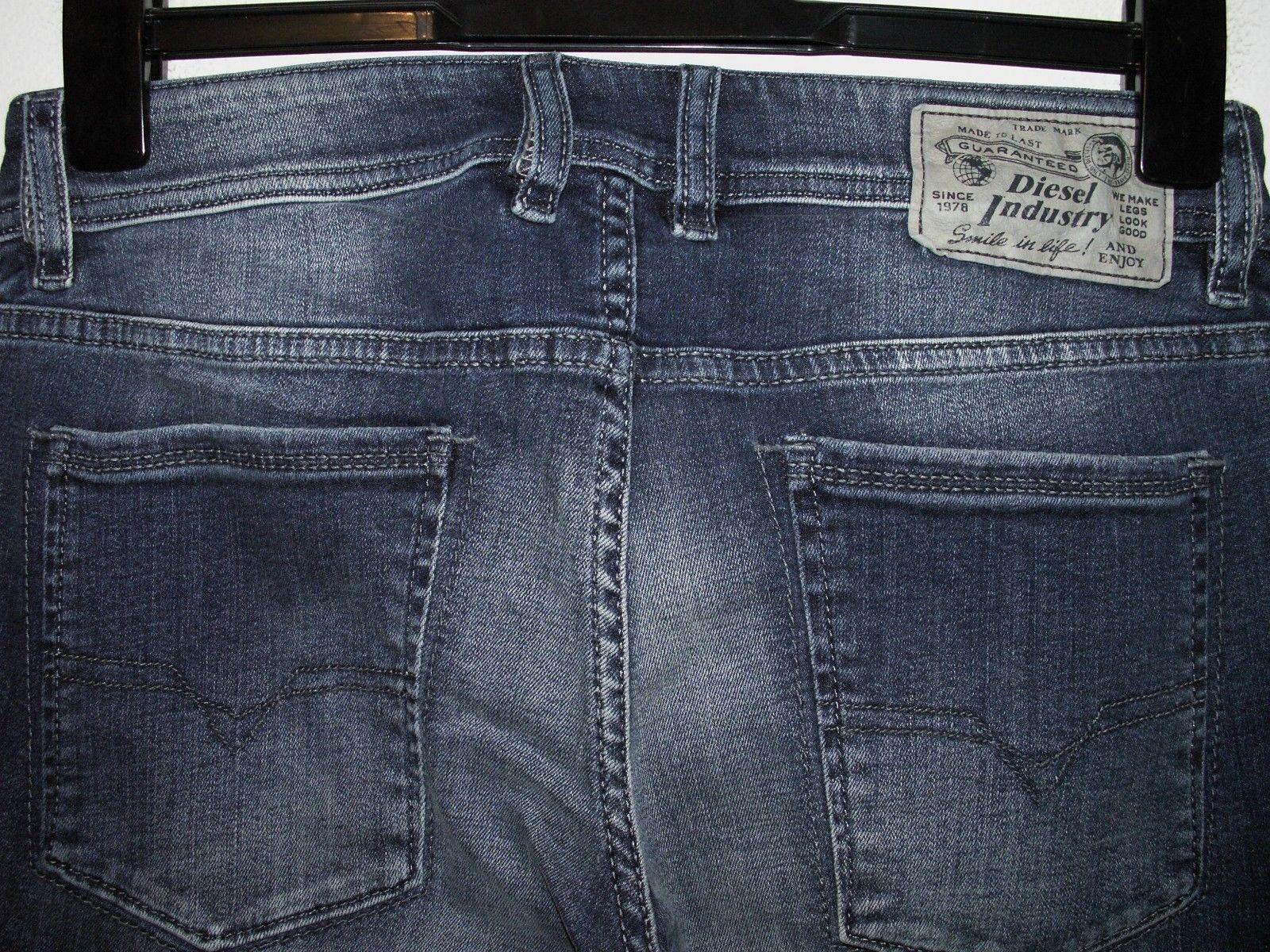 Diesel sleenker slim-skinny jeans 0R841 stretch W28 L32 a1017 119.99 sale 69.99