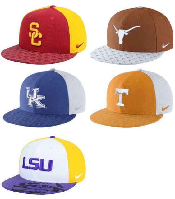 competitive price e80dc 54d58 Nike NCAA Week Zero Trainer 5 Snapback Cap Hat  35