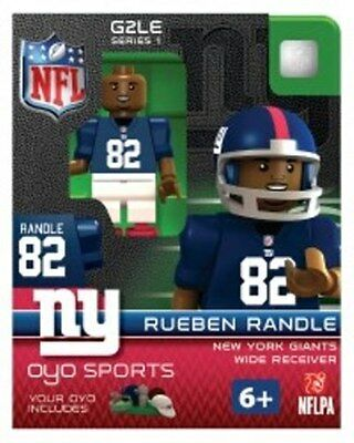Rueben Randle OYO NEW YORK GIANTS NFL Mini Figure LEGO Compatible NEW G2