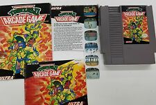 Teenage Mutant Ninja Turtles 2: The Acrade Game (NES) w/ Manual and Box