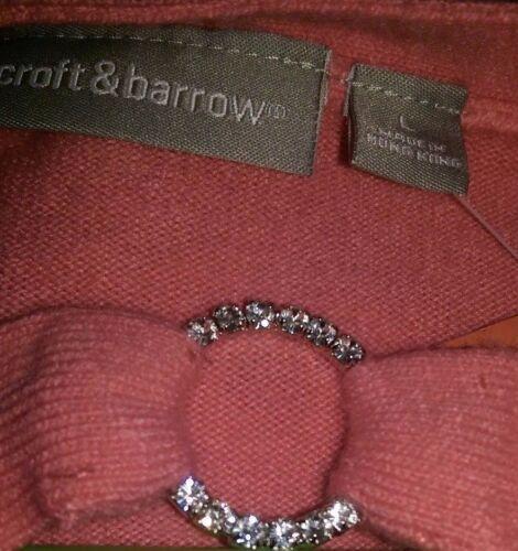 da Worm Maglioncino L disponibili Taglie rosa Nwt Croft donna Womens Barrow BqqOdfT