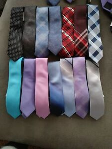 dfbd8bffc5a5 New VAN HEUSEN $45 Shadow stripe TIE RIGHT Slide On PreTied Necktie ...