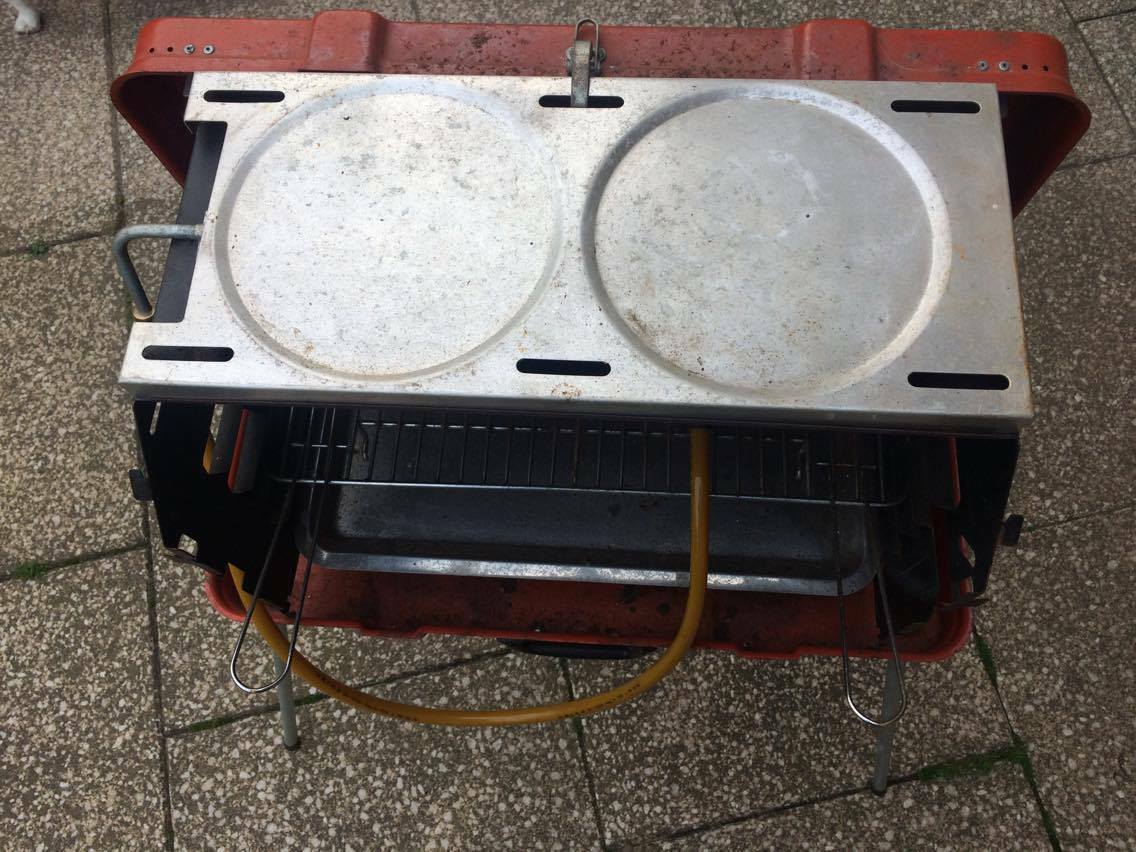 Einhell Koffergrill, Campinggrill, Grill, Gasgrill Reisegrill Type HG 9000 A