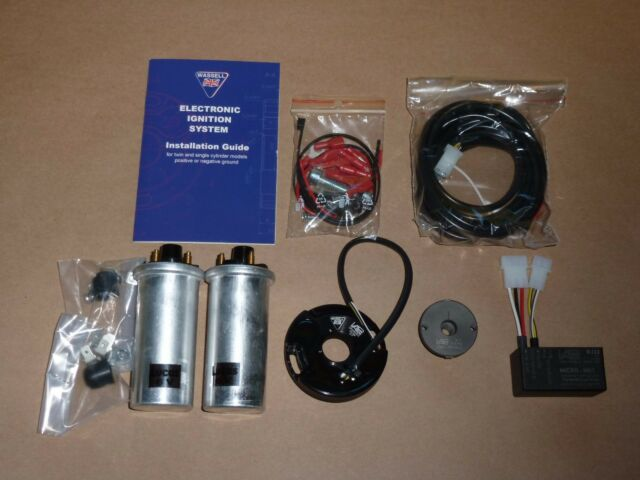 Triumph 650 750 ELECTRONIC IGNITION W/ COILS by VAPE WASSELL MICRO-MK1 t120 t140