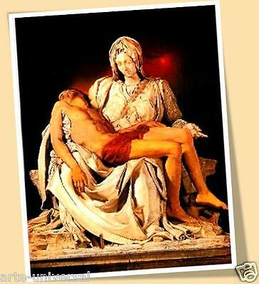 MODERN PIETA MICHELANGELO CHRIST VIRGIN ART PRINT POSTER PIEDAD MIGUEL ANGEL