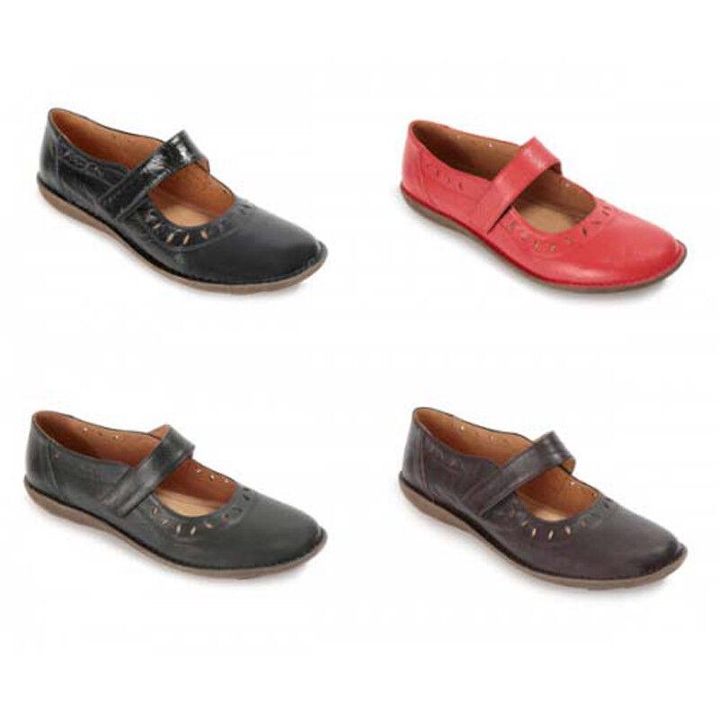 Halbschuhe Mary Janes Damenschuhe Lederschuhe Schuhgröße 36-41 vom Hersteller
